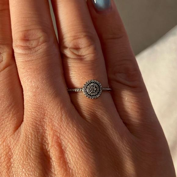 Pandora ring - elegant sparkle ring